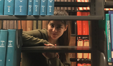 Katerina Batsarisaki –a student from Crete, studies at the Faculty of Engineering at HIT