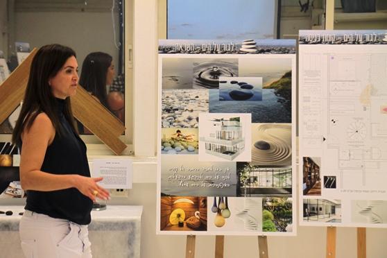 הגשות פרויקטי גמר בעיצוב פנים בבית הספר ללימודי תעודה