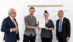 פרס Compasso d'Oro האיטלקי היוקרתי לשני בוגרי הפקולטה לעיצוב