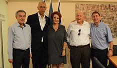 שגריר ישראל בברזיל בביקור ב- HIT