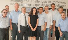 ביקור רשמי ראשון של משלחת מאוניברסיטת HTW, גרמניה ב HIT