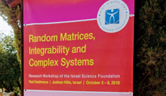 "The 3rd Int'l Conference on ""Random Matrices, Integrability and Complex Systems"""