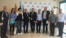 Delegation from The Ss. Cyril and Methodius University, Skopje visited HIT