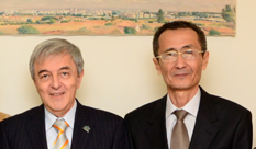 The spokesman  for Uzbekistan's Foreign Ministry in a first formal visit to HIT
