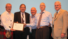 Prof. Moti Frank received an Award given to INCOSE_IL