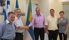 Knesset Member Dr. Akram Hasson visited HIT