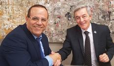 Minister of Communication, Ayoub Kara, visited HIT
