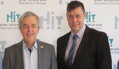 Israeli Ambassador to Macedonia Dan Oryan visited HIT