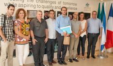 הנספח למדע ולעניינים אקדמיים בשגרירות צרפת בישראל ביקר ב HIT