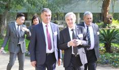 משלחת של בכירים מהאוניברסיטה הלאומית של אוזבקיסטן מתארחת ב- HIT