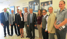 Delegation from Sinclair College, Ohio, visited HIT