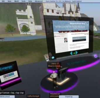 Start your Engines! Real - Virtual Worlds Engaging Interactions