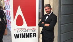Idan Herbet from the Faculty of Design won a prestigious prize in Italy