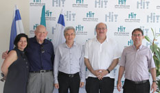 Dr. Ilan Goldfajn, former President of the Central Bank of Brazil, visited HIT