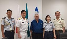 Head of Japanese J6 (Cyber Command) visited HIT