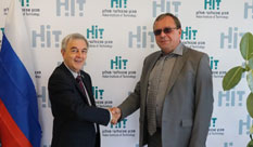 Ambassador of Russian Federation in Israel Visits HIT