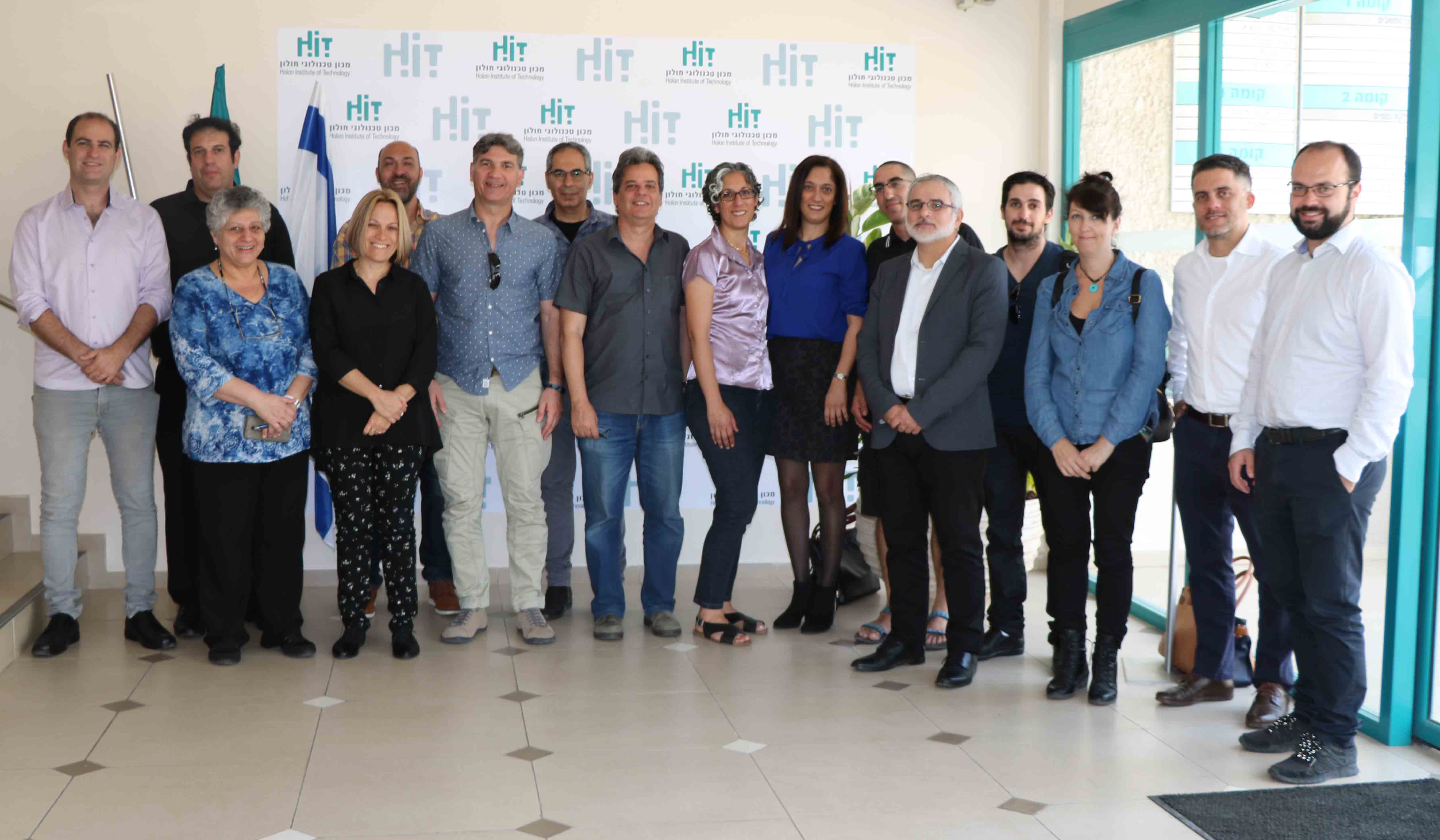 iPEN's 1st Progress Meeting took place at HIT