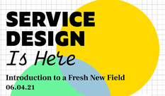 Service Design is Here Conference of the Faculty of Design