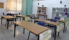 """עיצוב מחדש של כיתת התקשורת בבית ספר """"התבור"""" בחולון"""